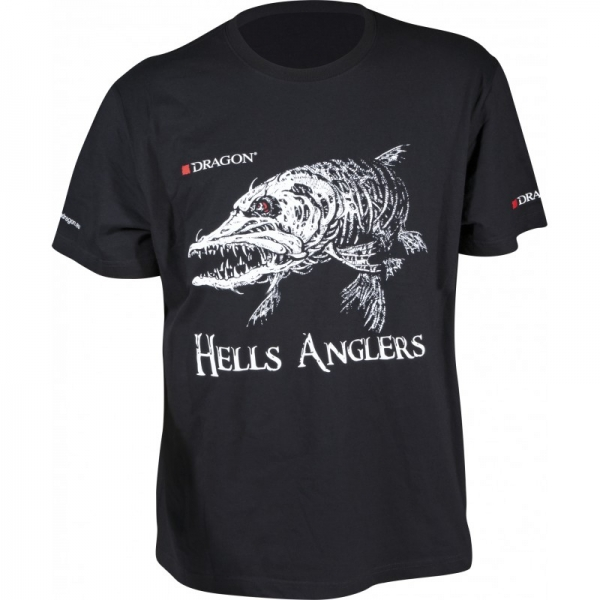 T-Shirt Hells Anglers Hecht